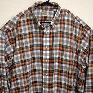 Gitman Bros Long Sleeve Front Button Shirt 2XL